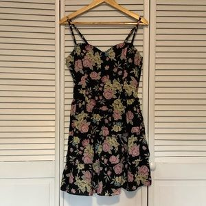 H&M Floral Ruffle Dress